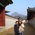 景福宮一角--其實很冷