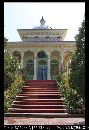 阿曼尼沙罕紀念陵墓 還滿漂亮的