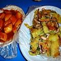 辣炒年糕和海鮮煎餅