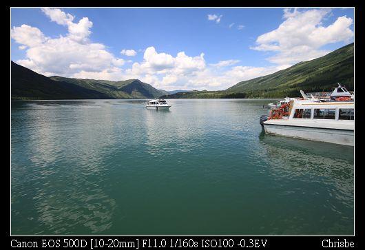 喀納斯湖8 坐船太貴了