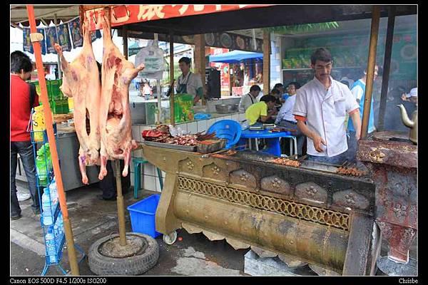 路邊烤肉攤