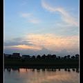 0810冬山河畔夕陽