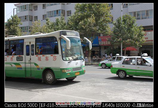 莎車縣城  公車
