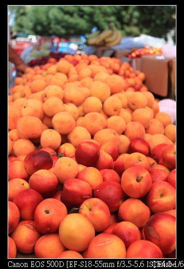 吃完午餐買桃子