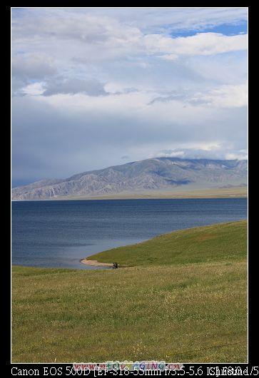 很寧靜的賽里木湖1