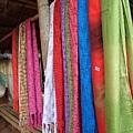 手工編織的圍巾