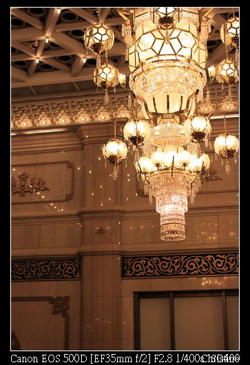 1224 巨大的華麗吊燈