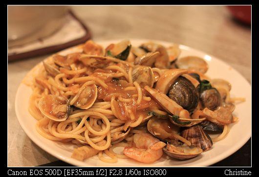 1124 紅酒海鮮義大利麵