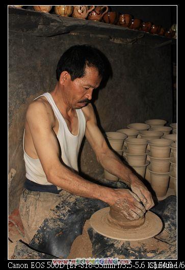 燒窯的工人