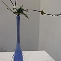 0306我很喜歡這個寶藍色的花瓶