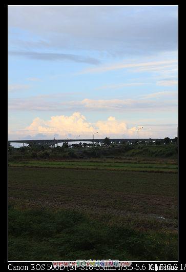 遠方很美的雲彩