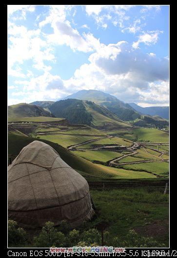 龍坽山莊門口遠眺