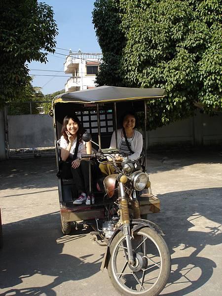緬甸--坐嘟嘟車