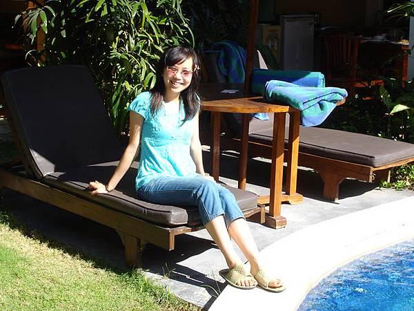 庫塔的de Daun villa~有私人游泳池喔