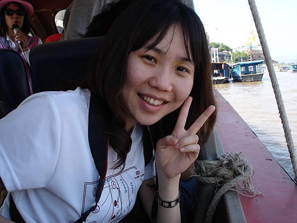 往寮國--往湄公河船上