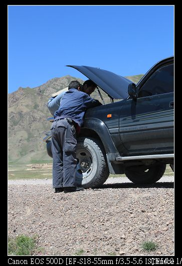 車子壞了!! 危機時刻