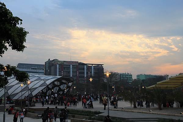 0306夕陽--很美喔