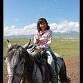 嘿 我在騎馬呢