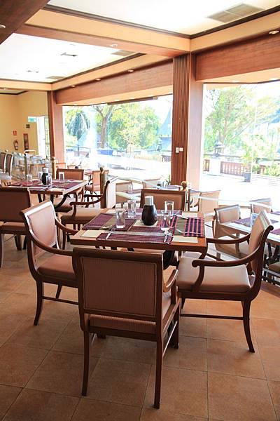 高級的綠園餐廳