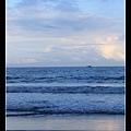 1013五結海邊的夕陽