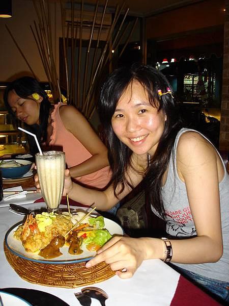 好好吃的印尼炒飯!!