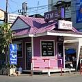 紫色的ATM喔