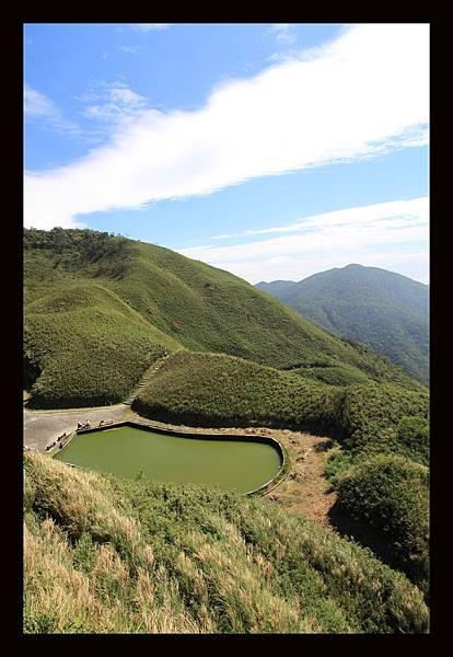 山頂俯瞰的景色2