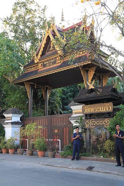 清萊--玉佛寺門口