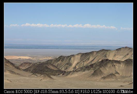 遠方的平原看起來很像大海