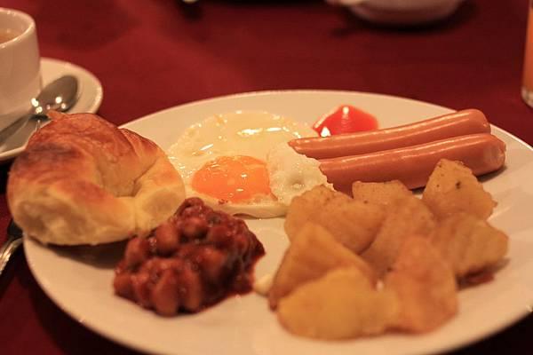 又再次有厲害的早餐