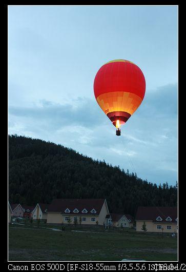 熱氣球升空囉