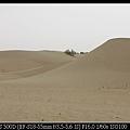 努力往前爬  才拍到比較高的沙丘