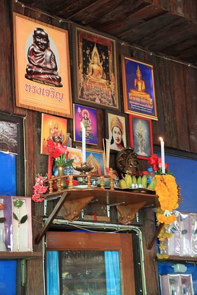 泰國的神龕