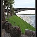 0907冬山河左岸自行車道入口