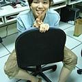 這樣椅子比較好坐?