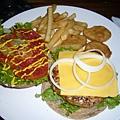 火雞肉漢堡