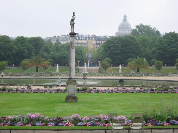 法--盧森堡宮--義式花園