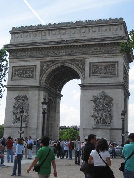 法--巴黎--凱旋門