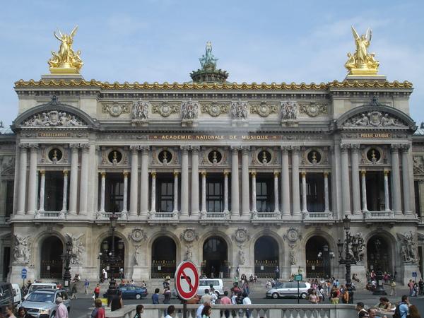 法--巴黎--巴黎歌劇院