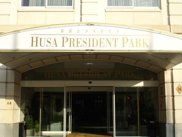 比利時~HUSA PRESIDENT PARK HOTEL  飯店