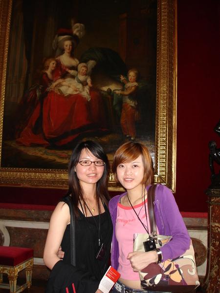 法國--凡爾賽宮內