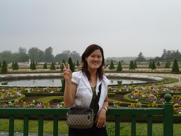 法利時--凡爾賽宮--法式花園