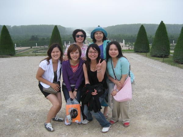 法國--凡爾賽宮--法式花園