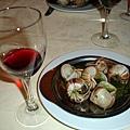 法國--巴黎-田螺餐