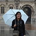 法國--巴黎-聖母院前的廣場