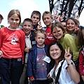 法國--巴黎鐵塔--前面的廣場