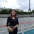 法國--巴黎鐵塔--塞納河
