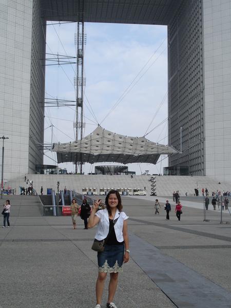 法國--拉德芳斯--大拱門