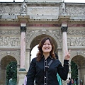 法國--羅浮宮小方門