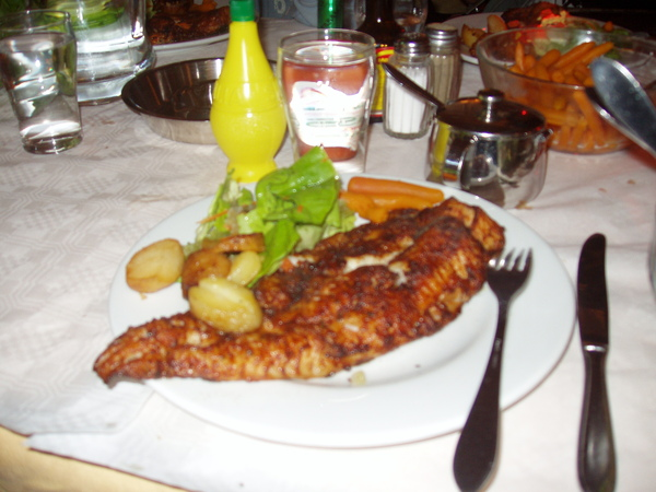 荷蘭--北海飛魚排餐